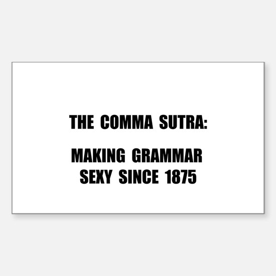 Comma Sutra Sexy Black Decal