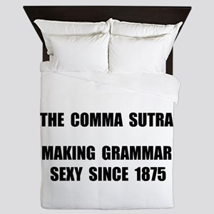 Comma Sutra Sexy Black Queen Duvet