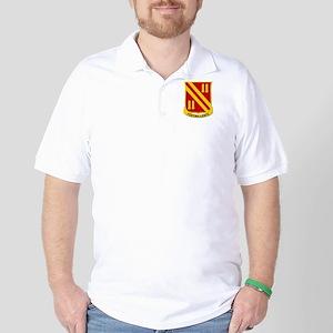 5th Bn, 42nd Field Artillery Golf Shirt