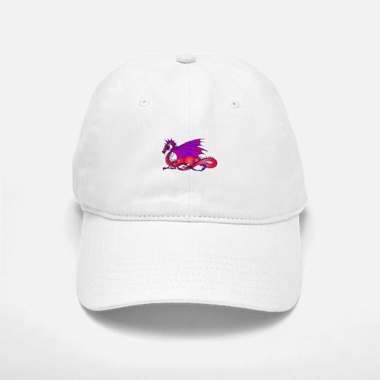 Rainbow Dragon Baseball Baseball Cap