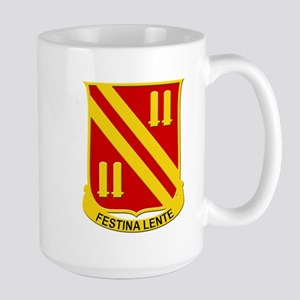 42nd Field Artillery Large Mug