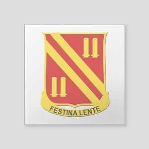 "42nd Field Artillery Square Sticker 3"" x 3"""
