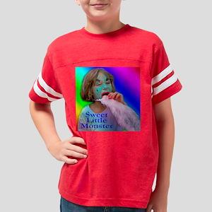 Sweet Little Monster Youth Football Shirt