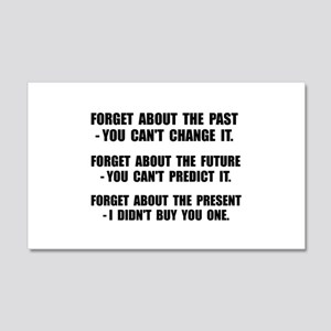 Forget Present Wall Decal