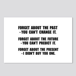 Forget Present Postcards (Package of 8)