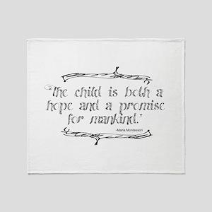 Hope Promise Throw Blanket