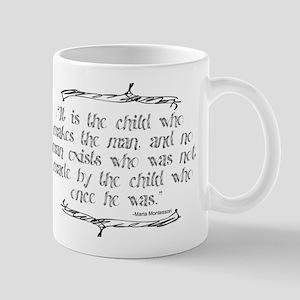 Child Makes the Man Mug