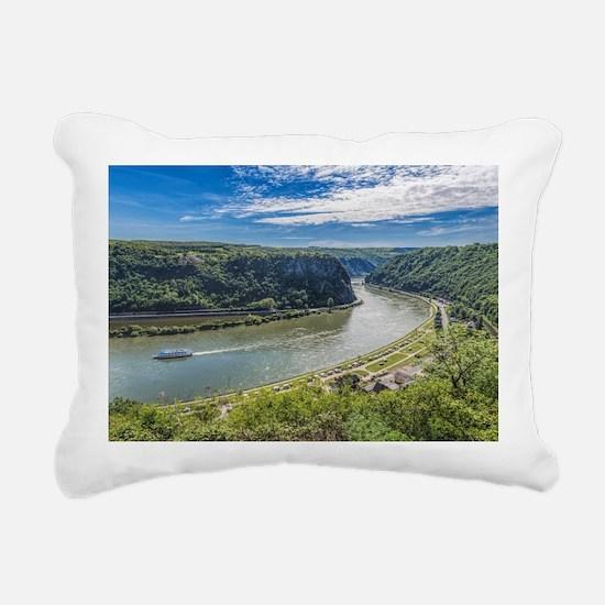 Cute Green light Rectangular Canvas Pillow