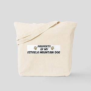 Estrela Mountain Dog: Propert Tote Bag