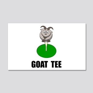 Goat Tee Wall Decal
