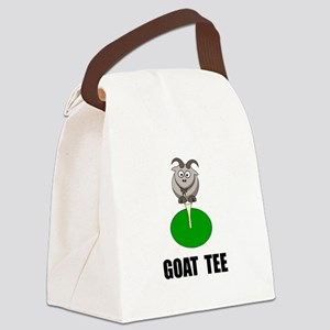 Goat Tee Canvas Lunch Bag