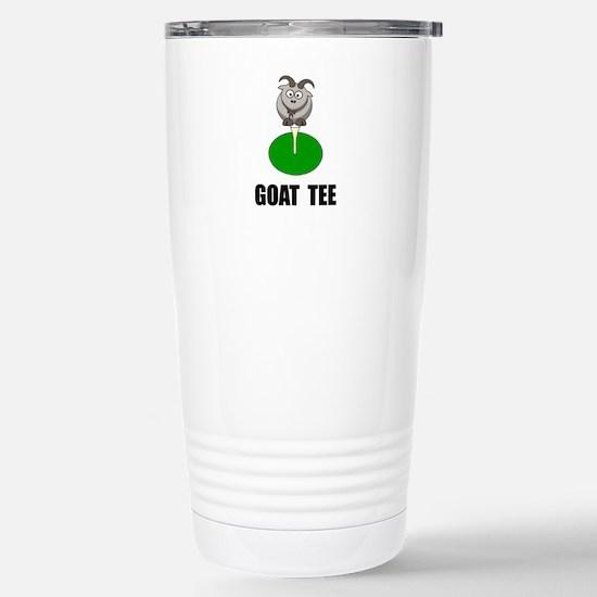 Goat Tee Travel Mug