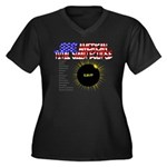 The Great American Total Solar Eclipse Plus Size T