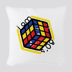 80's -- Woven Throw Pillow