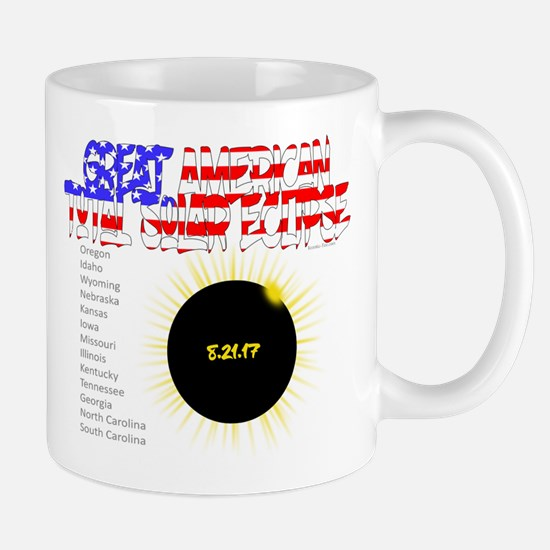 The Great American Total Solar Eclipse Mugs