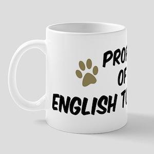 English Toy Spaniel: Property Mug