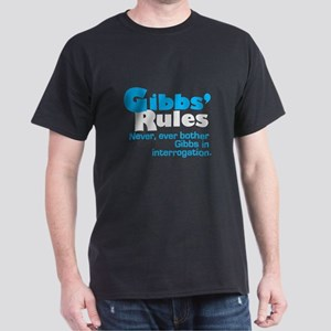 Gibbs Rules Never Bother Gibbs Dark T-Shirt
