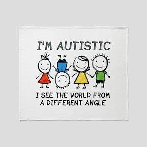 I'm Autistic Stadium Blanket