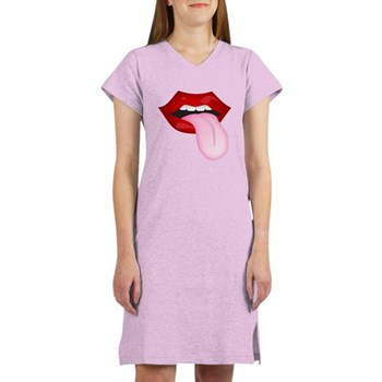 Tongue Out Women's Nightshirt