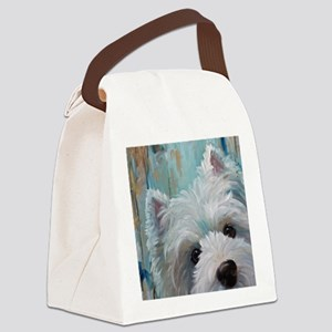 Drip Canvas Lunch Bag