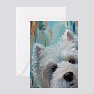 Drip Greeting Card