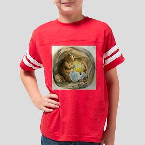 3-Tile box Youth Football Shirt