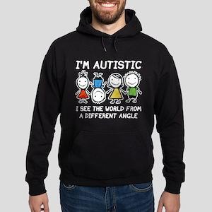 I'm Autistic Hoodie (dark)