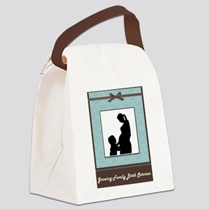 Growing Family Canvas Lunch Bag