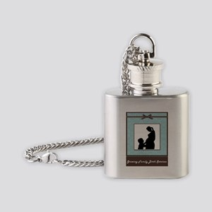 Growing Family Flask Necklace