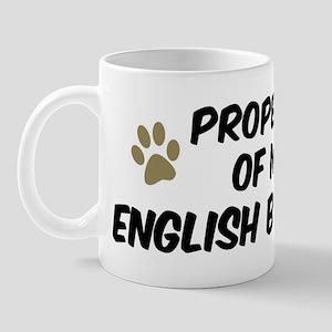 English Bulldog: Property of Mug
