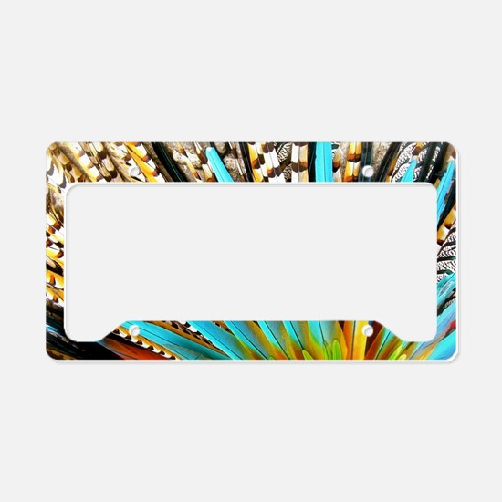 Shine Your Colors! License Plate Holder