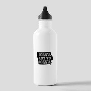 Iowa Lot To Iowa Water Bottle