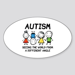 Autism Sticker (Oval)