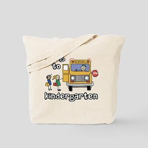 Going to Kindergarten Tote Bag