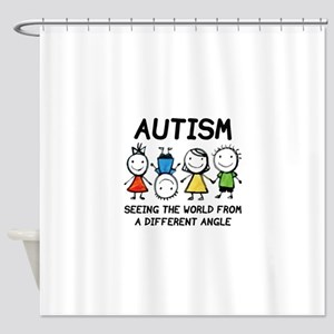 Autism Shower Curtain