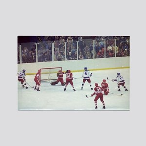 Miracle on Ice Rectangle Magnet