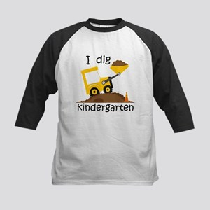 I Dig Kindergarten Baseball Jersey