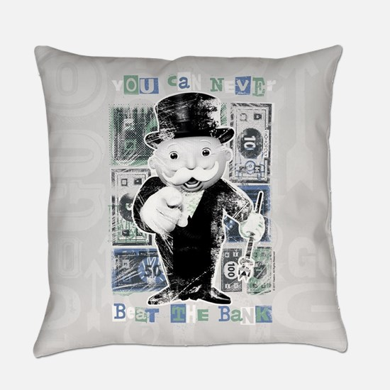 Monopoly Beat The Bank Everyday Pillow