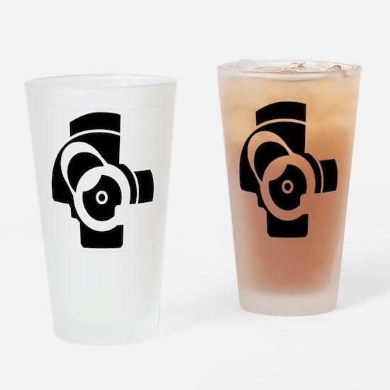 AK-47 Bolt Face Drinking Glass