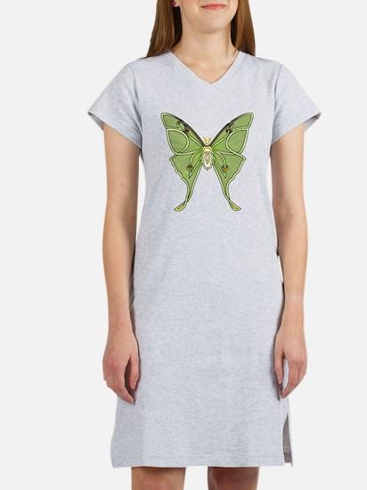 Luna Moth Women's Nightshirt