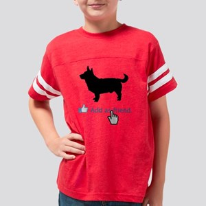 Lancashire-Heeler13 Youth Football Shirt