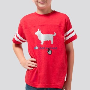 Lancashire-Heeler14 Youth Football Shirt