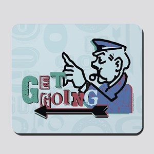 Monopoly Get Going Mousepad