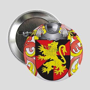 "Matias Coat of Arms - Family Crest 2.25"" Button"