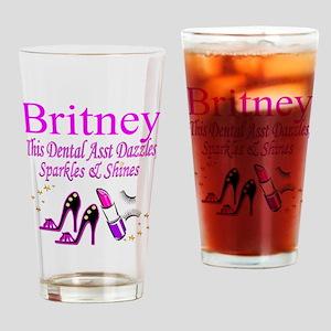 TOP DENTAL ASST Drinking Glass