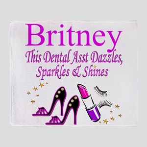 TOP DENTAL ASST Throw Blanket