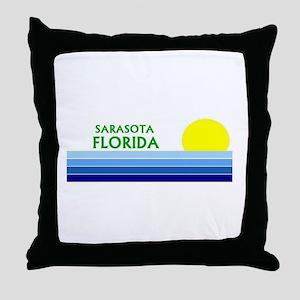 Sarasota, Florida Throw Pillow