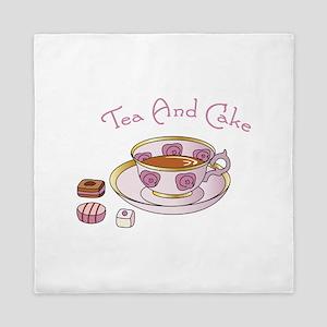 Tea And Cake Queen Duvet