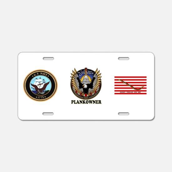SSN-785 PLANKOWNER! Aluminum License Plate