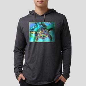 Sea Turtle, Wildlife art! Mens Hooded Shirt